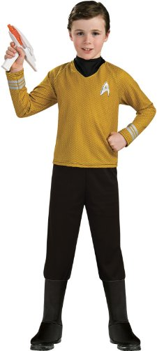 Star Trek Into Darkness Deluxe Captain Kirk Costume, Large front-1076714