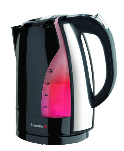 Breville VKJ366 Black and Stainless Steel Jug Kettle by Breville