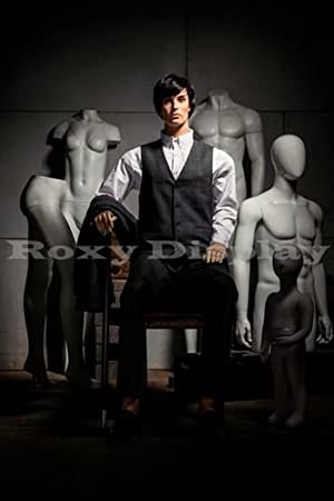 (MZ-HM01) ROXYDISPLAYTM Male Mannequin, Flexible Head, arms and Legs with Wooden Articulated Hands. (Color: MZ-HM01)