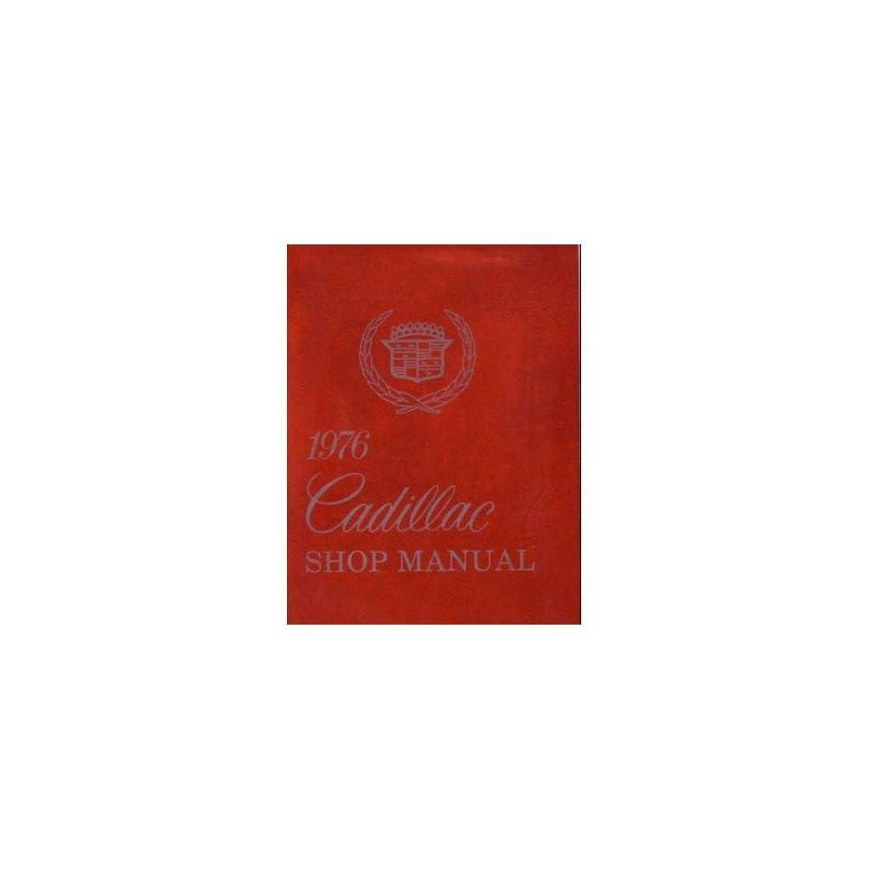 1976 Cadillac Deville Eldorado Fleetwood Shop Service Repair Manual Book Engine Automotive