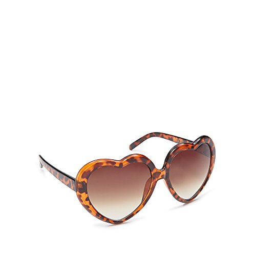 floozie-by-frost-french-womens-light-brown-tortoise-shell-heart-sunglasses