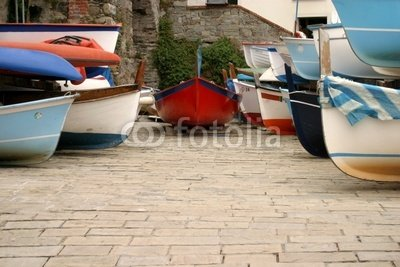 Wallmonkeys Peel and Stick Wall Decals - Boat Parking - 24