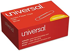 Smooth Paper Clips Wire Jumbo Silver 100Box Sold as 100 Each