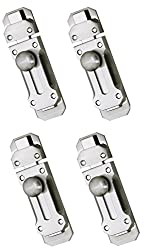 Truphe Butterfly Door Latch 4 pieces (Silver)