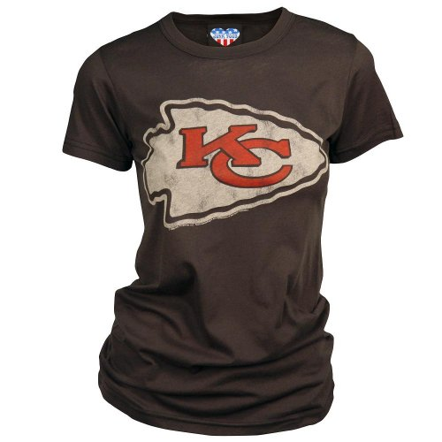 Kansas City Chiefs Women's Vintage Short Sleeve