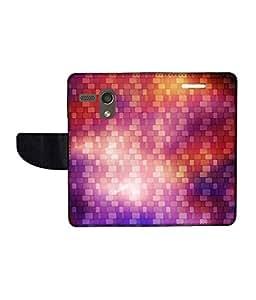 KolorEdge Printed Flip Cover For Motorola Moto G -Multicolor (45KeMLogo11014MotoG)