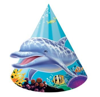 Ocean Party Party Hats, Child Size - 1