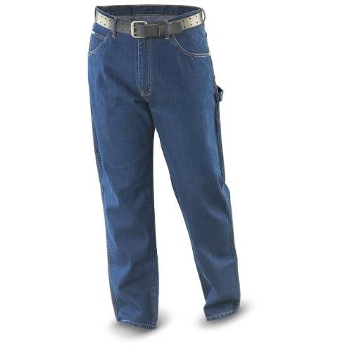 """32"""" Inseam Big Smith Carpenter Jeans Denim at Amazon Men's Clothing"""