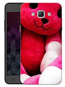 "Humor Gang Cute Teddy Bear Printed Designer Mobile Back Cover For ""Samsung Galaxy E5"" (3D, Matte, Premium Quality Snap On Case)"