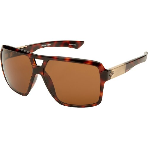 Fox Racing The Clarify Adult Lifestyle Sunglasses - Brown Tortoise/Bronze / One Size Fits All