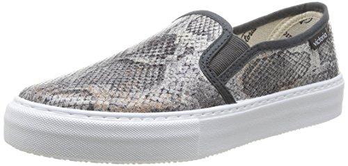 VictoriaSlip On Tej Serp Metalizado - Sneaker unisex adulto , Grigio (grigio), 37