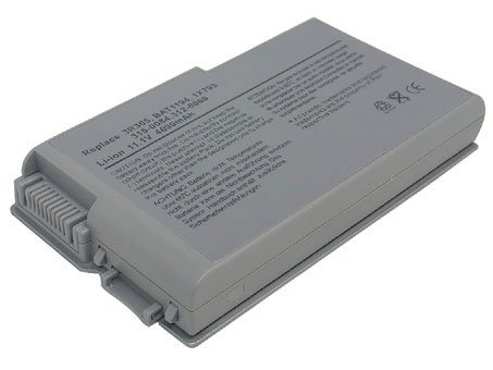 Supplant Battery Now 6 Cell 4400mAh/49wh Li Ion Brand New High Genius Laptop Notebook Replacement Battery for Dell Inspiron 500m Series, Inspiron 510m, Inspiron 600m Series, Latitude D500 Series, Latitude D505, Latitude D510, Latitude D520, Latitude D530,