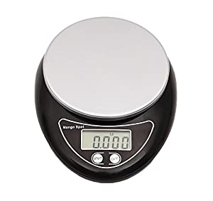 Mango Spot Digital Multifunction Kitchen and Food Scale, 1g to 11lbs Capacity