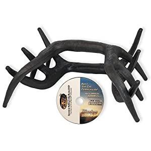 Black Rack - Deer Rattling Antlers w  Instructional video by Illusion Systems