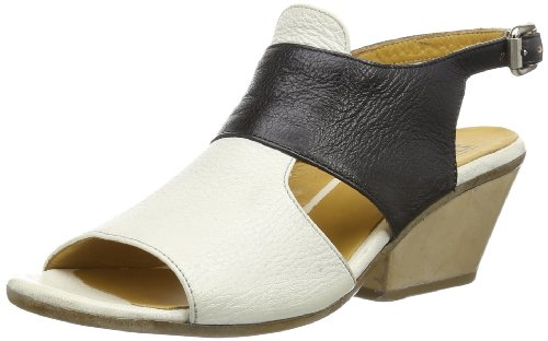 MOMA Womens t sandal Sandals Black Schwarz (nero-allume) Size: 9 (41 EU)