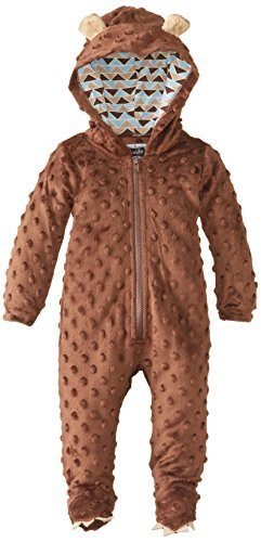 Mud Pie Baby-Boys Newborn Bear One Piece