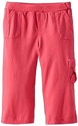 Splendid Littles Baby-boys Newborn Always Solid Cargo Pant, Flamingo, 3-6 Months