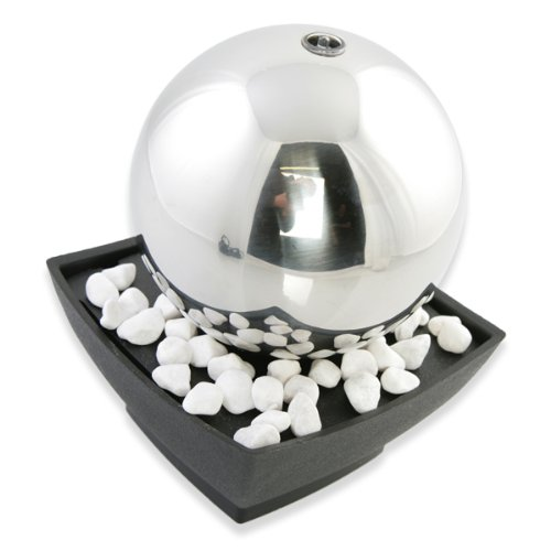 Orb Indoor Water Feature (With LED Light)