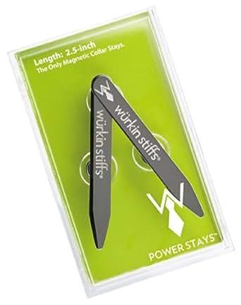 "Executive Wurkin Stiffs 2.5""inch Power Stays Magnetic Collar Stays"