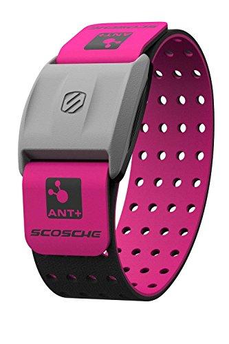Scosche RHYTHM+ Heart Rate Monitor Armband - Pink - Optical