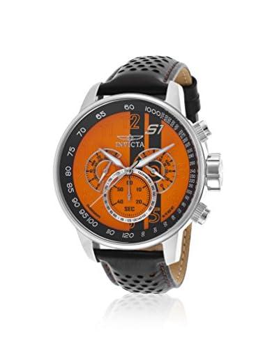 Invicta Men's 19898 S1 Rally Black/Orange Stainless Steel Watch