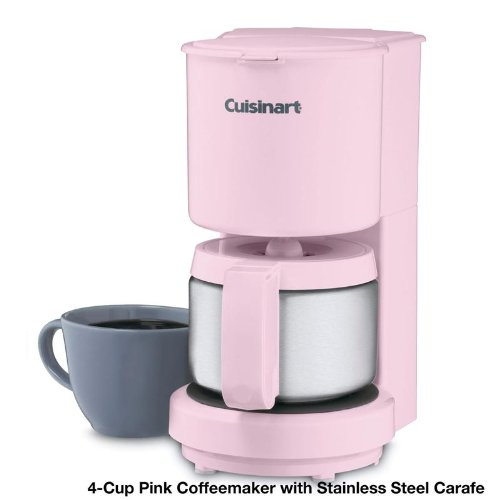 Drip Coffee Maker Stainless Steel Carafe : Cuisinart DCC-450 4-Cup Coffeemaker with Stainless-Steel Carafe by Cuisinart - Coffee Maker World