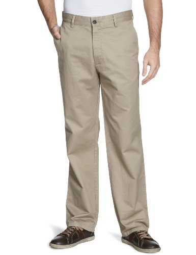 Dockers D2 Attk Straight Men's Trousers British Khaki W36 INXL32 IN