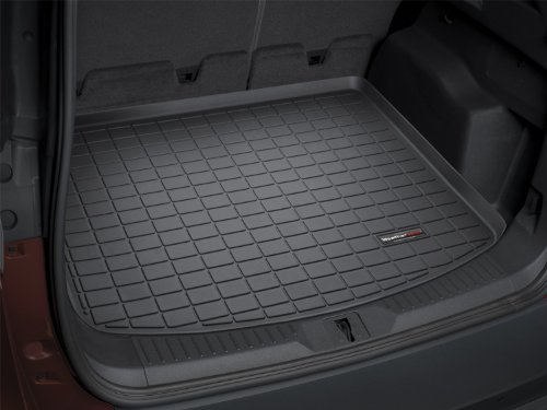 WeatherTech Custom Fit Cargo Liners for Toyota Yaris 5 door, Black (2007 Toyota Yaris Trunk Liner compare prices)