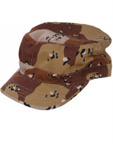 Brown Camouflage Hunting Camo Baseball Hat Costume Cap