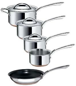 Raymond Blanc Stainless Steel 5 Piece Cookware Set