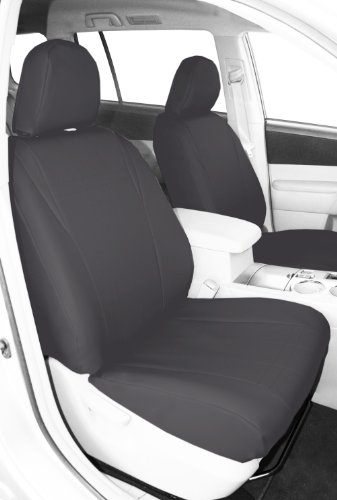 Tan with Black Sides Neosupreme Coverking Custom Fit Front 50//50 Bucket Seat Cover for Select Volkswagen Passat Models