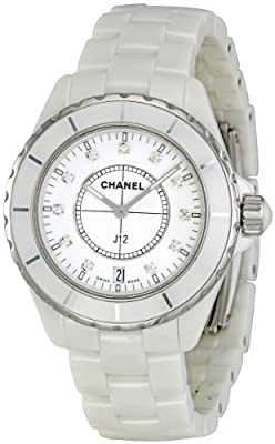 Chanel Men's H2125 J12 Diamond Dial Watch