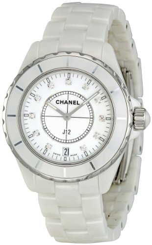 Chanel Men's H2125 J12 Diamond Dial Watch