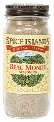 Spice Islands Beau Monde Seasoning, 3.5-Ounce (Pack of 3) from Spice Islands