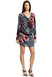 D.E.P.T. Women's Flower Long Sleeve Dress
