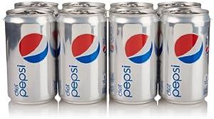 Diet Pepsi (8 Count, 7.5 Fl Oz Each)