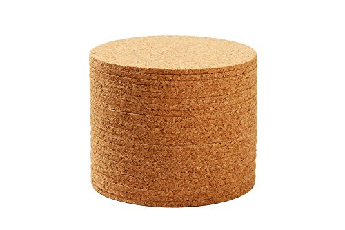 cork-coasters-absorbent-cork-drink-coasters-bar-size-4-inch-set-of-24-by-juvale