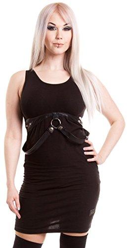 Vixxsin -  Vestito  - Senza maniche  - Donna nero X-Large
