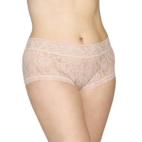 Hanky Panky Women's Signature Lace *Plus Size* Boyshort (Chai,2X)