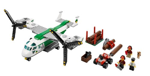 lego city 60021 jeu de construction l 39 avion cargo your 1 source for toys and games. Black Bedroom Furniture Sets. Home Design Ideas