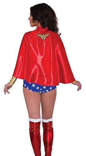 [R32216 Wonder Woman Cape] (Supergirl Costume Size 22)