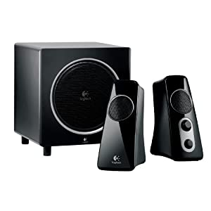 Logitech Speaker System Z523 with Subwoofer 50% OFF