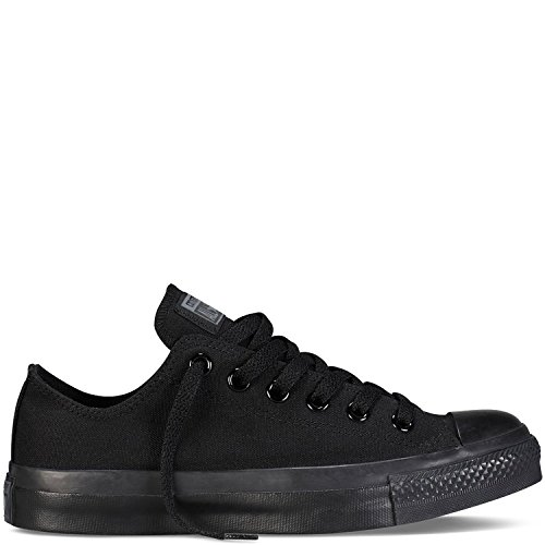 Converse Unisex Chuck Taylor All Star Ox Low Top Sneakers Black Monochrome 11 B(M) US / 9 D(M) US