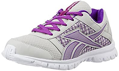 Reebok Women's Country Ride 3.0 Silver,Purple And White Running Shoes - 4 UK