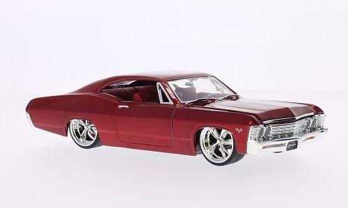 chevrolet-impala-ss-tuning-rot-1967-modellauto-fertigmodell-jada-124