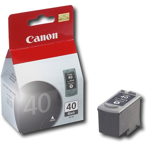 Canon Pg-40 Black Ink Cartridge front-592987
