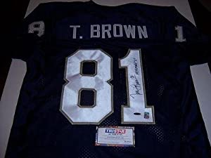 Autographed Tim Brown Jersey w  Heisman 87 - Tristar Productions Certified -... by Sports+Memorabilia