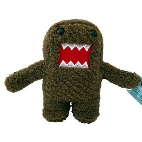 "Licensed 2 Play Domo Braces 6 1/2"" Plush Novelty Doll - 1"