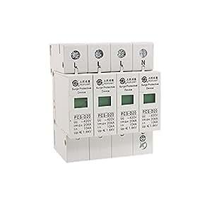 AC 420V 20KA 4 Poles Din Rail Surge Protective Device