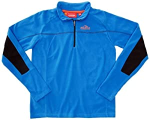 Bear Grylls by Craghoppers Boys' Originals Half Zip Microfleece,Extreme Blue ,3-4